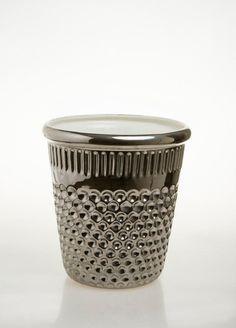 InDito vaso SILVER edition Ceramica