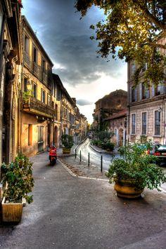 Stad Aix-en-Provence, Provence-Alpes-Côte d'Azur, Frankrijk