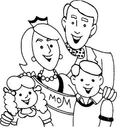Family Coloring Pages for Kids Luxury Royal Family Coloring Page Coloring Sky Family Coloring Pages, Coloring Pages For Kids, Shrek, Online Coloring, More Pictures, Illustration, Folk, Gallery, Sky