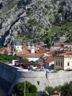 Kotor, Montenegro-we ate lunch on this wall, excellent beer!