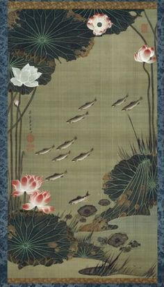 For the first time in history, 250-year old paintings by the Japanese artist Ito Jakuchu (1716 – 1800) have crossed the seas to be displayed at Washington DC's National Museum of Art.  More of them at this site.