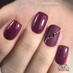 50 Most Sexy Dark Nails Design You Should Try in Fall and Winter 2018 - Nail des. - 50 Most Sexy Dark Nails Design You Should Try in Fall and Winter 2018 – Nail design 30 - Dark Red Nails, Burgundy Nails, Burgundy Wine, Red Nail Art, Cool Nail Art, Pink Nail, Red Art, Ombre Nail, Dark Nail Designs