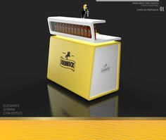 Mobile Bar / Barra Móvil by Guido Lanari, via Behance