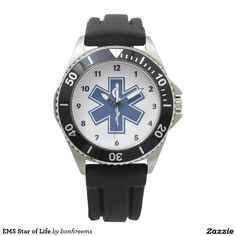 EMS Star of Life Watches Always Time To Save A Life and Make A Difference