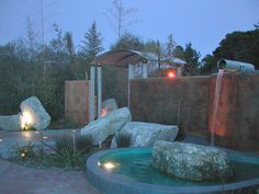 Architect and builder of new and remodeled beach homes and commercial buildings in Santa cruz and Monterey counties. Monterey County, Outdoor Living, Outdoor Decor, Water Features, Landscaping, Construction, Group, Architecture, Building