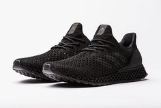 The 3D Runner, available December 15 in New York, has a 3D printed outsole, midsole and heel counter, and a Primeknit upper.
