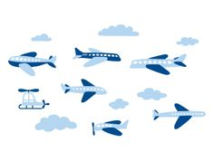 airplane car train wall Decals | Zoom, Zoom Goes Rush's Room with weeDECOR Car Wall Decals