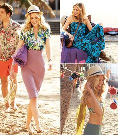 We know fall just arrived but we're already planning our next beach vacation. This collection from the April 2012 issue of BurdaStyle features sewing patterns for men and women that are perfect for any beach activity that might come your way. #burdastyle #sewing #pattern #diy