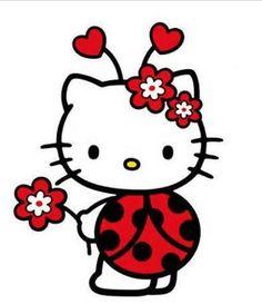 Lady Bug Kitty. #hellokitty