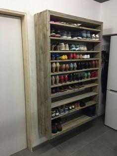 pallet shoe rack Mehr