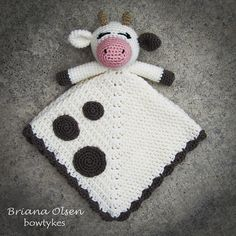 Ravelry: Baby Cow Lovey pattern by Briana Olsen