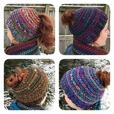 These messy bun hats have recently taken the fiber art scene by storm! When I first began searching for a pattern to crochet there weren't many options available especially in a chunky/bulky …