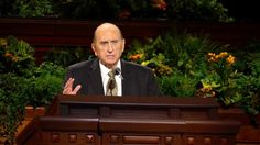 Thomas S. Monson -Here are five of the things President Monson invited each of us to do to be better and to come closer to God:       Do more than just believe in Jesus Christ and His mission. Work to learn of Him in the scriptures, come to know Him through prayer, and continually use His power to repent and improve.     Know God's laws and live them. It's the only way to obtain true happiness.     Live the truth.     Share the truth.     Care for our bodies and our minds by observing…