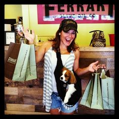 Friend of @olimilagourmet funny lady Jill-Michele Melean @jillyonline came by the store and really cleaned us out. Check out this pict. Thx Jilly. We love u!!!!