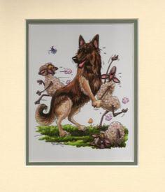 Belgian-Shepherd-Mini-Print-by-Mike-McCartney