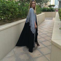 Cape abaya by OC fashion design . EID collection