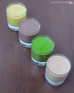 Love this review!.. 365 Vegan Smoothies | thevegancrew.com Detox Smoothies, Vegan Smoothies, Green Smoothies, Smoothie Recipes, Healthy Meals, Healthy Food, Healthy Recipes, Vegan Plate, Detox Shakes