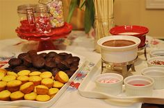 Cupcake FOndue by yourhomebasedmom, via Flickr