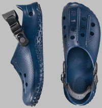 Birki ''Fun Air Back Strap'' from Alpro-Cell complete in Blue with a regular insole