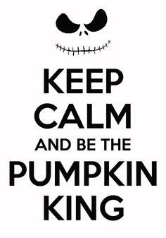 love me some jack Yes! I  the Pumpkin King!