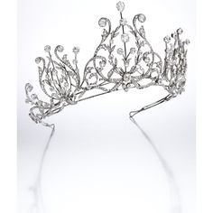 Platinum and Diamond Tiara-Necklace Combination, France