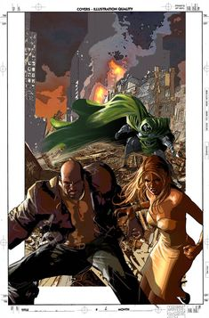 Cover N.A Color Study by MikeDeodatoJr on DeviantArt Color Studies, Art Studies, Mike Deodato Jr, New Avengers, Cover, Study, Marvel, Deviantart, Comics