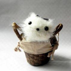 Amigurumi pattern - Kawaii kitty - Crochet amigurumi animal toy doll tutorial PDF. $4.00, via Etsy.