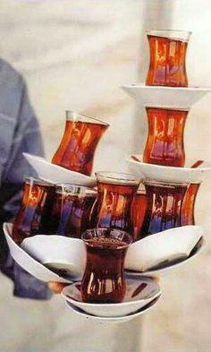 ♔ ☪ Azerbaijan   tea