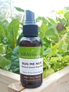 BUG ME NOT Organic All Natural Insect Spray For People & Dogs - All natural insect repellent created with a proprietary blend of 100% pure, organic essentials oils proven to deter and repel mosquitoes, fleas and ticks from Dogs and Humans. Throughout history, oils from plants have been used to keeps many species of insects at bay; essential oils are the earth's oldest, purest, and most effective repellent of bugs and insects.