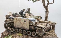 10.5cm Sturmhaubitze 42 Ausf.G by Costantino Sanna