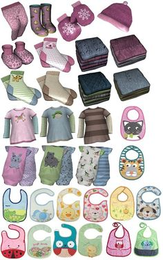 My Sims 3 Blog: Infant Clutter Set by Suza