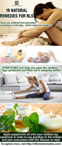 Natural home remedies for restless leg syndrome in adults suggest 19 ways to get relief from restless leg syndrome fast at home