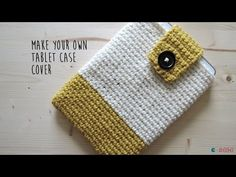 [DIY] Crochet cover tutorial for any tablet or phone – tutorial and video ! | Ahookamigurumi