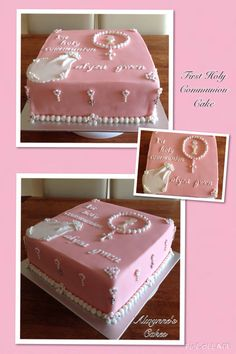 First Holy Communion Cake for girls