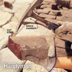 Build a Stone Patio or Brick Patio