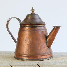 Vintage French Copper Tea/Coffee Pot