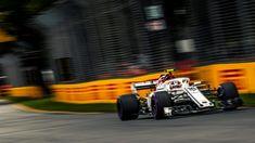 Charles Leclerc Alfa Romeo Sauber C37 qualifying at Australian Grand Prix, Melbourne - Saturday 24 March 2018