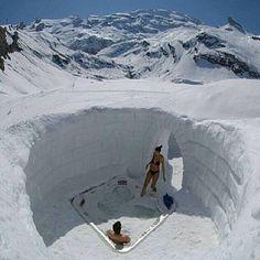 Hot Bath Tube in Swiss Alps photo via @awesome.pix by awesomedreamplaces https://www.instagram.com/p/BAN0fZ2lNkX/ via https://scontent.cdninstagram.com/hphotos-xta1/t51.2885-15/e35/12519239_1667547986841461_1186591684_n.jpg