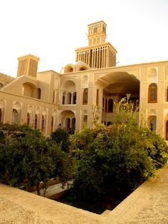 Iranian Traditional House /Yazd Iran Traveling Center irantravelingcent... #iran #tehran #travel