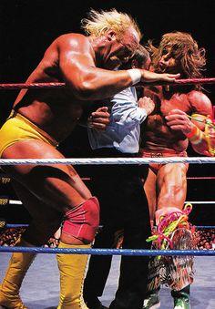 Hulk Hogan vs. Ultimate Warrior