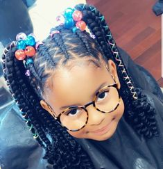 Black Baby Girl Hairstyles, Black Kids Braids Hairstyles, Little Girls Natural Hairstyles, Cute Hairstyles For Kids, Mohawk Hairstyles, African Hairstyles, Hairstyle Ideas, Wedding Hairstyles, Little Girl Braids