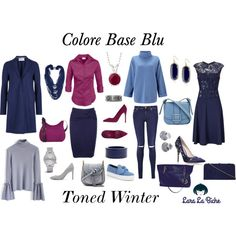 A fashion look from February 2017 featuring lace maxi dress, knit top and zip sweater. Browse and shop related looks. Winter Typ, Capsule Wardrobe Work, Deep Winter, Ralph And Russo, Soft Summer, Winter Colors, Mom Outfits, Polyvore Fashion, Fashion Looks