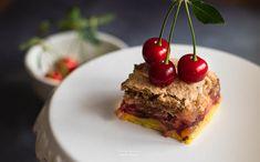 Dióhabos meggyes pite — FINOMAN SZÓLVA... Food, Essen, Meals, Yemek, Eten