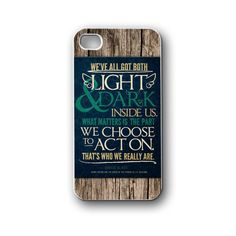 light and dark quotes - iPhone 4/4S/5/5S/5C, Case - Samsung Galaxy S3/S4/NOTE/Mini, Cover, Accessories,Gift