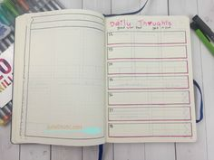 These Bullet Journal collections allow me to keep weekly sermon notes and track daily thoughts like a journal. Bujo