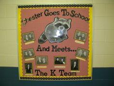 Kindergarten Team bulletin board!  Morgan Sellers- The Tennessee Life