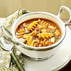 Comfort Foods with a Twist: Halibut Minestrone