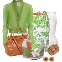 32+Beautiful+green+outfits+for+women