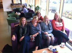 The Monday Morning GU Team meeting in the The Icon Cafe Daventry pinned with Pinvolve