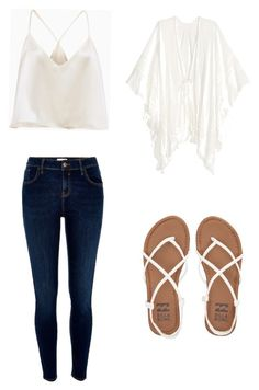 """Summer eligent"" by gabbylindsey on Polyvore featuring River Island and Billabong"